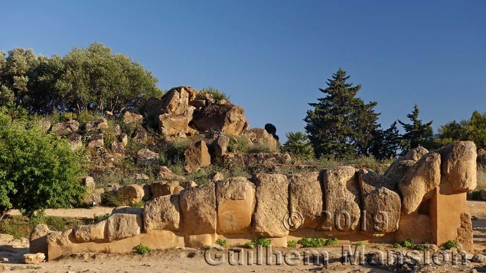 Agrigente - Site de l'Olympiéion