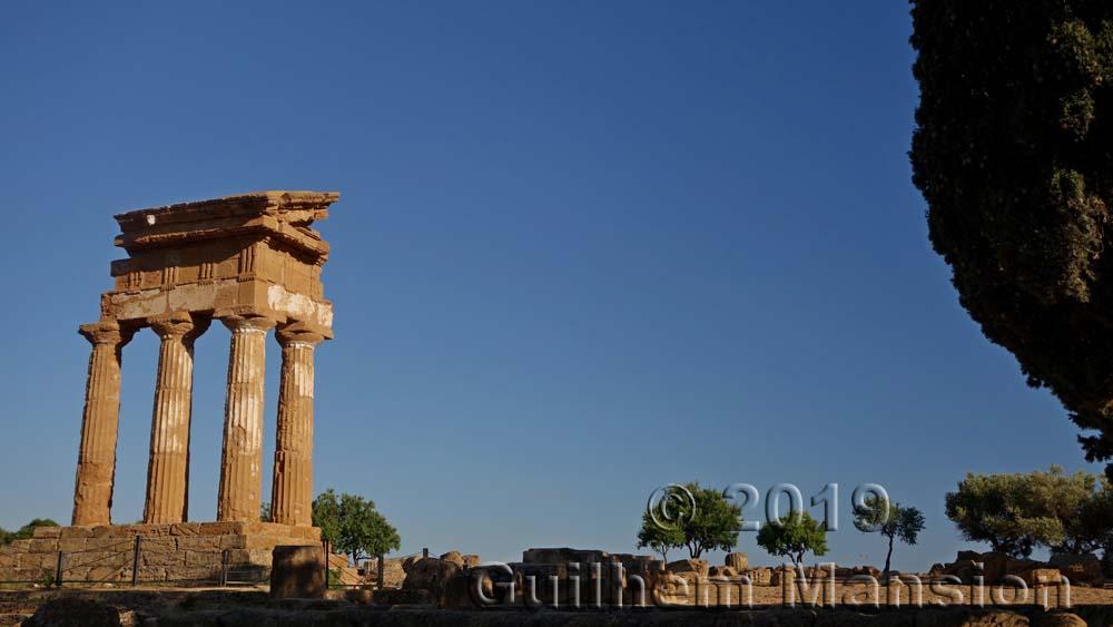 Agrigente - Temple des Dioscures