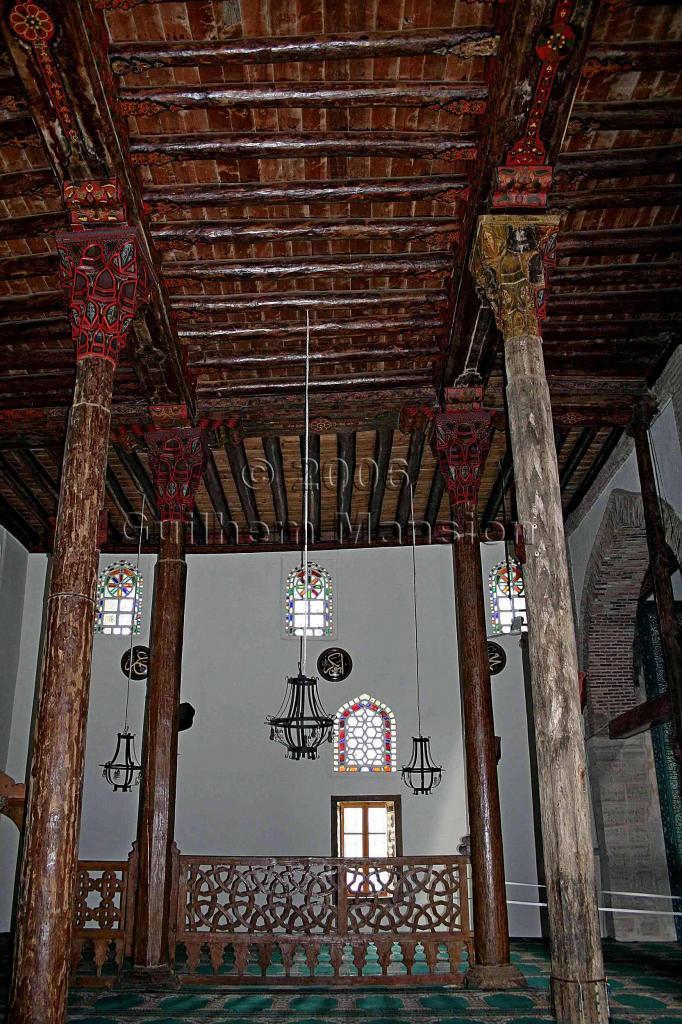 Mosquée en bois