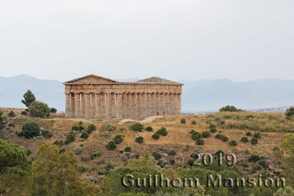 Segeste - Greek temple