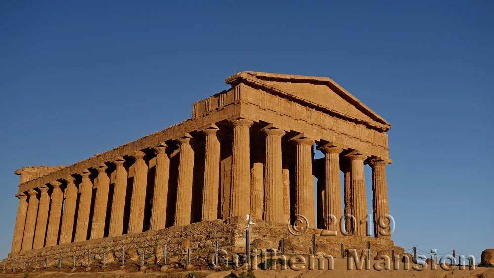 Agrigente - Temple of Concordia
