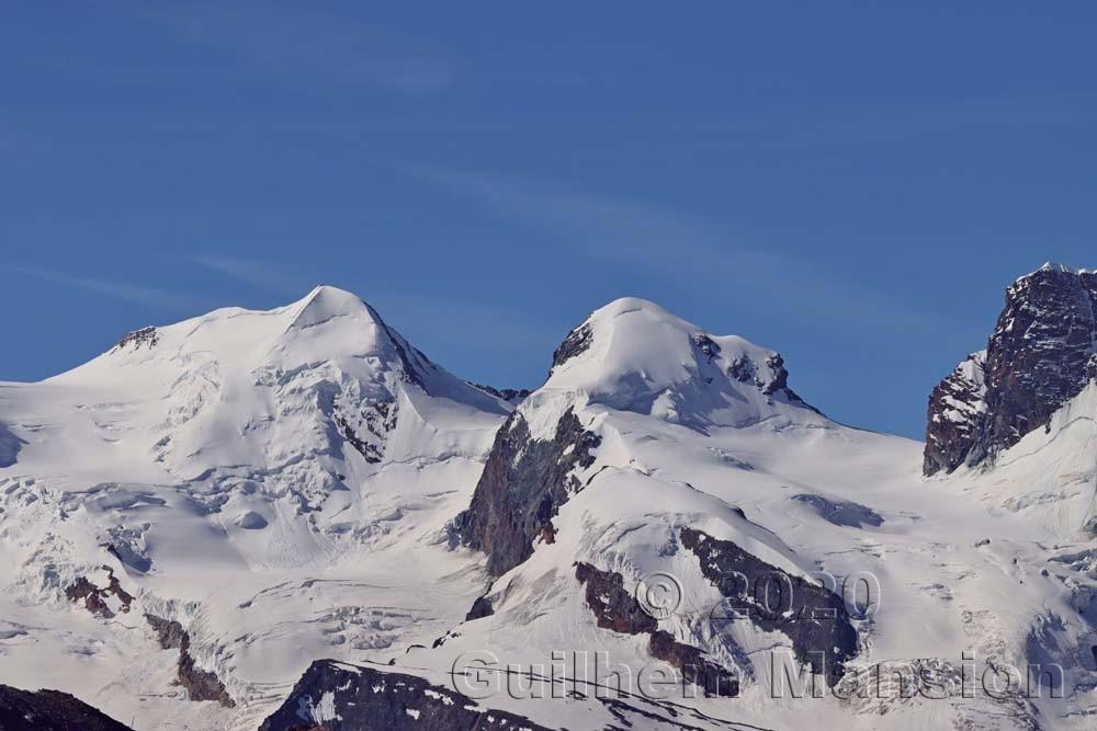 Castor (4228 m) - Pollux (4092 m)
